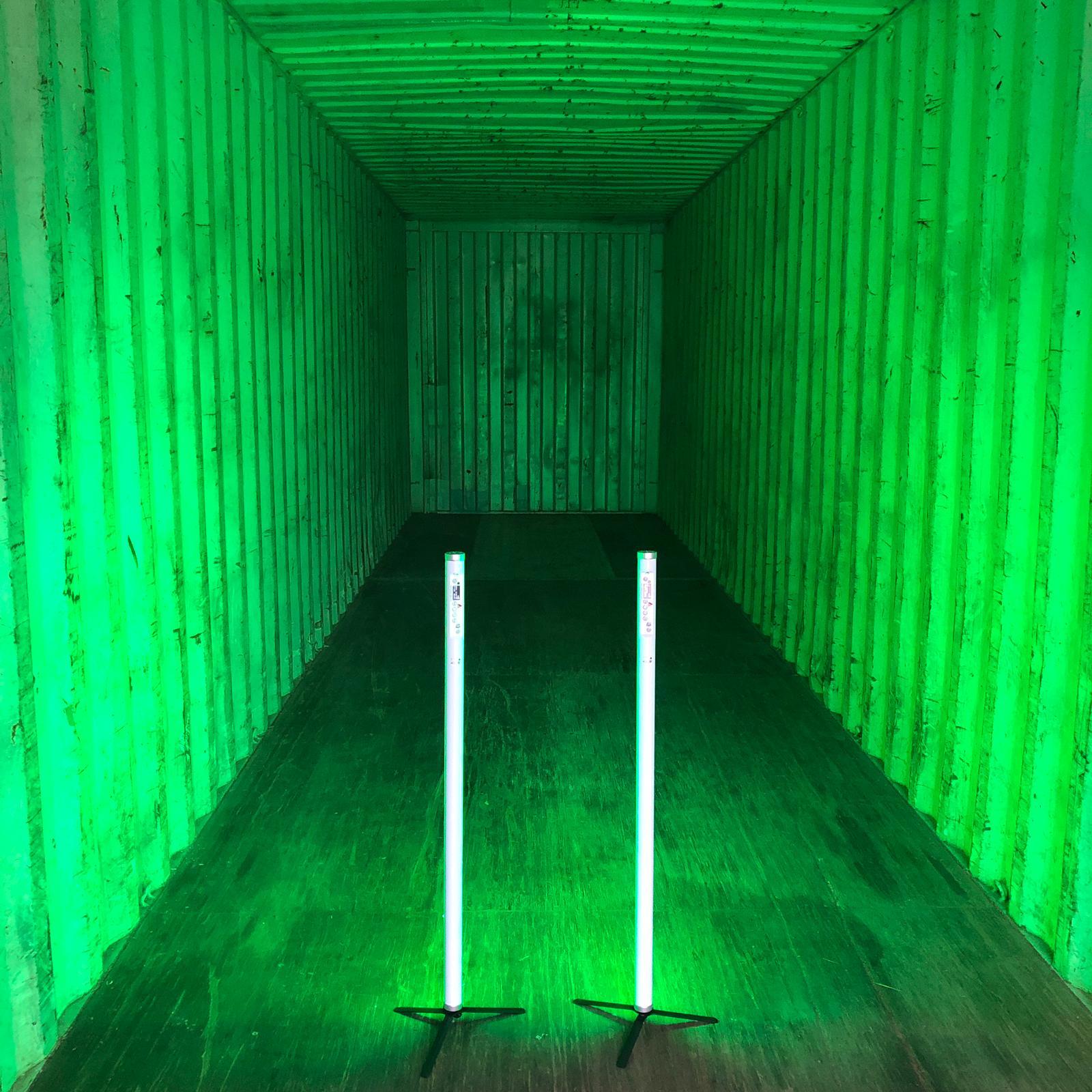Container_Filmproduktion_Grün_Beleuchtung