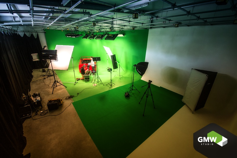 Greenscreen Studio buchen