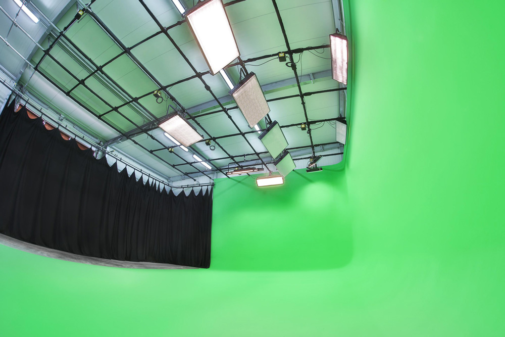 Studio buchen Greenscreen