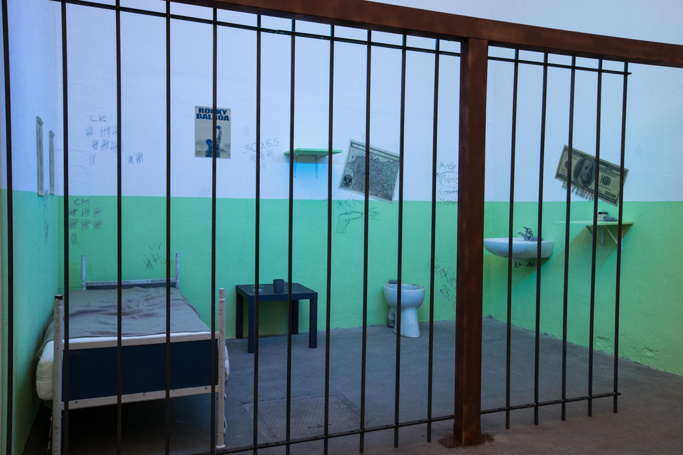 Gefängnis mieten Fotostudio