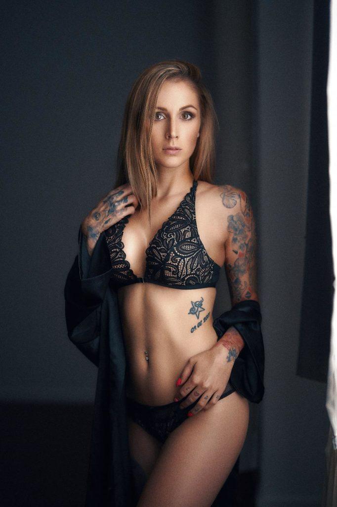 Model GMW Studio Fotoshooting